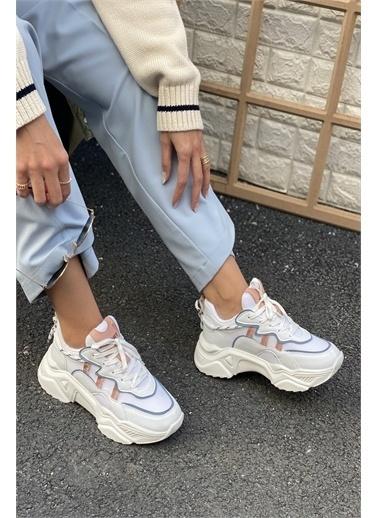 İnan Ayakkabı BAYAN SNEAKERS SPOR Beyaz